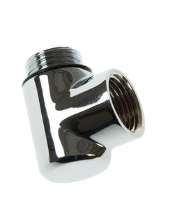 "Duel Fuel Elbow CP 1/2"" M+F"