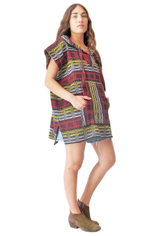 Baja Hooded Poncho