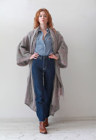 Mary Lou Handwoven Coat