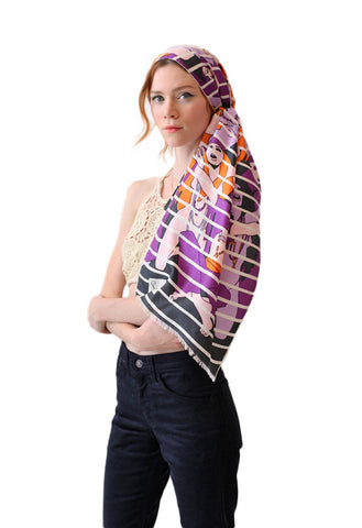 PIERRE CARDIN Haight-Ashbury Scarf