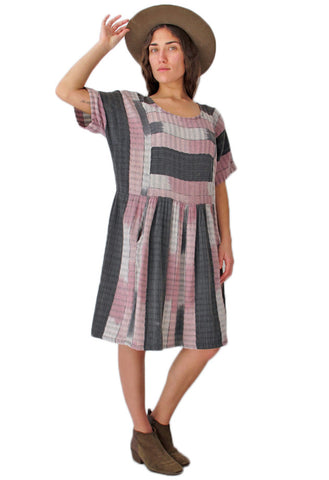 Beach Camping Ikat Dress