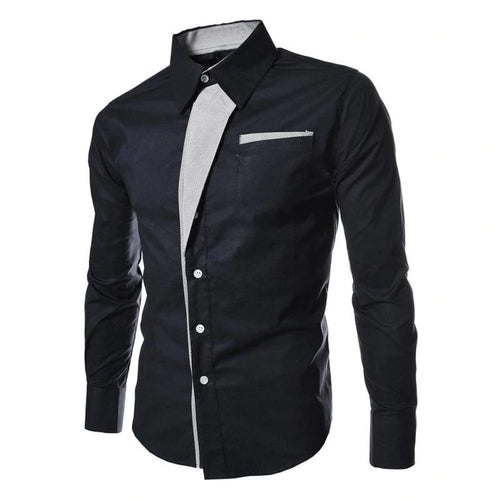MEN'S SHIRT CASUAL STYLE LONG SLEEVE