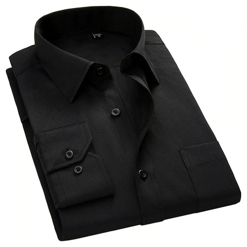 MEN'S BUSINESS SLIM MALE SOCIAL SHIRT
