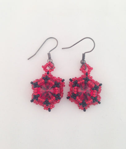Forbeadins - Alice earrings