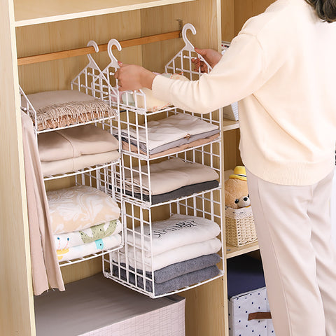 Multifunctional Wardrobe Storage Rack