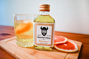 Ready to drink bottled white negroni cocktail by Bearded Viking Drinks