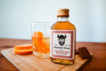 Ready to drink bottled chocolate orange old fashioned cocktail by Bearded Viking Drinks