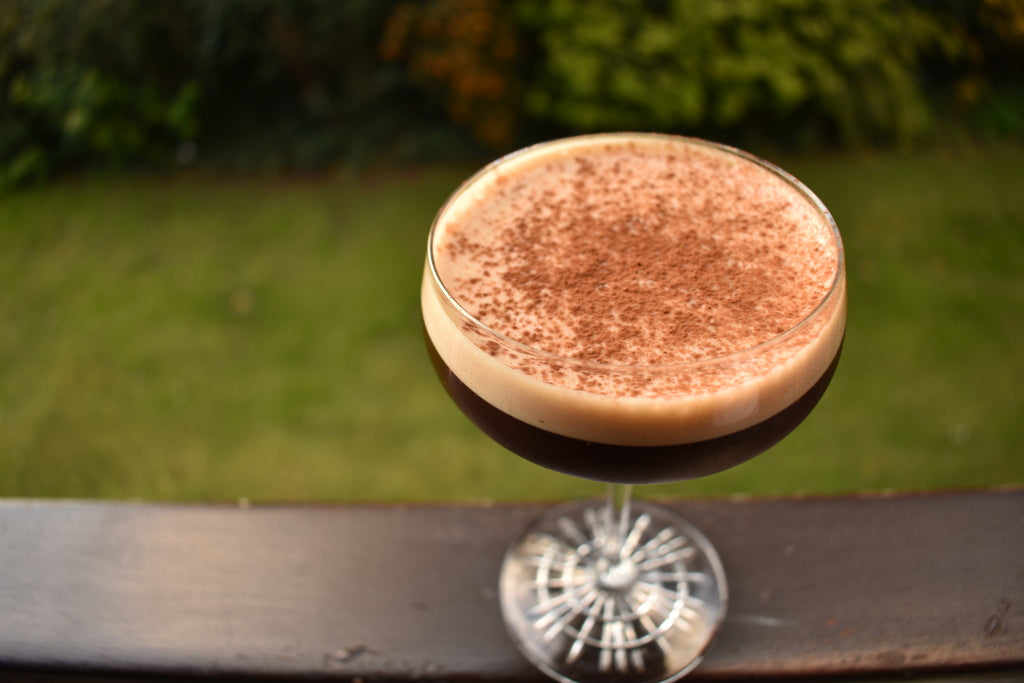 Ready to drink bottled espresso martini cocktail by Bearded Viking Drinks