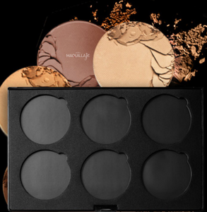 CREATE YOUR OWN MAGNETIC MINERAL PALLET (EMPTY) - Mora Maquillaje