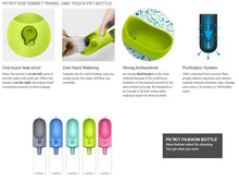 Load image into Gallery viewer, PETKIT Eversweet Portable Pet Water Bottle - Antibacterial & Purification System