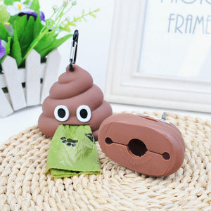 Funny Silicone Portable Waste Bag Dispenser