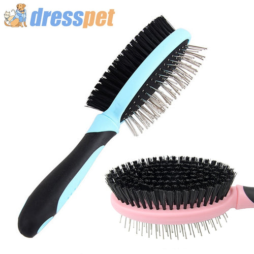 Double-sided Dog Grooming Brush