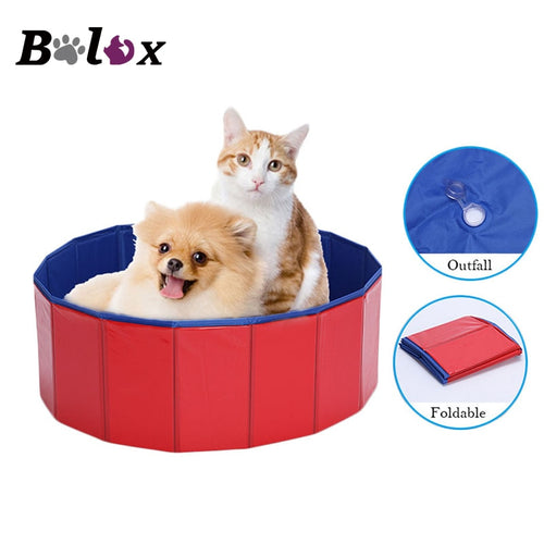 Portable Foldable PVC Pet Bathtub