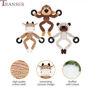 5pc Animal Shape Dog Toys