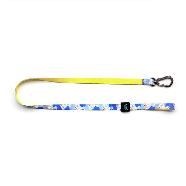 Stylish Printed Dog Lease with Heavy Duty Clip