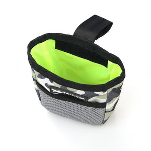 Outdoor Pet Treat Training Pouch with Waste Bag Dispenser - 3 Ways To Wear