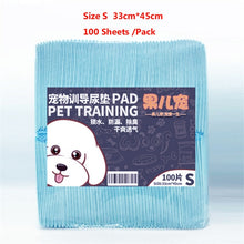 Load image into Gallery viewer, 20/40/50/100 pcs Super Absorbent Dog Training Pads