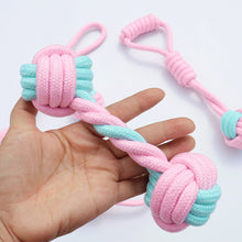 Load image into Gallery viewer, 5pcs Cotton Rope Dog Chew Toys