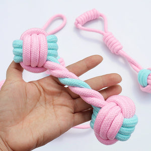 5pcs Cotton Rope Dog Chew Toys