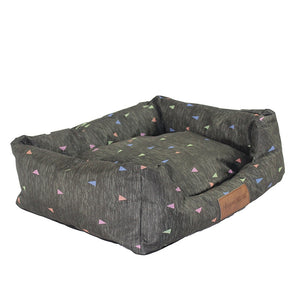 Stylish Printed Waterproof Dog Bed - Three Shape styles