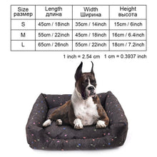 Load image into Gallery viewer, Stylish Printed Waterproof Dog Bed - Three Shape styles