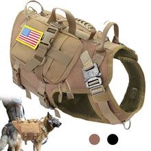 Load image into Gallery viewer, Tactical Premium Dog Harness