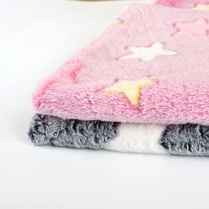 Cute Plush Puppu Bed Blanket