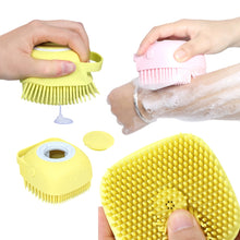 Load image into Gallery viewer, Multifunction Shampoo Massaging Pet Brush