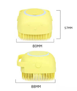 Multifunction Shampoo Massaging Pet Brush
