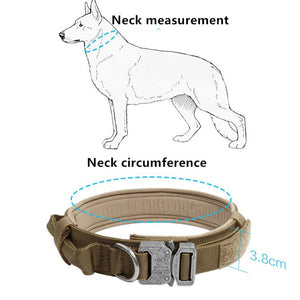 Nylon Tactical Dog Collar