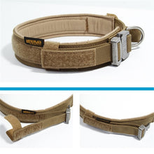 Load image into Gallery viewer, Nylon Tactical Dog Collar