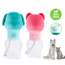 Load image into Gallery viewer, Pet Shaped Portable Dog Water Bottle