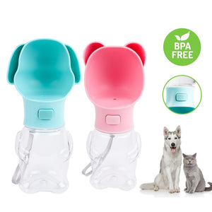 Pet Shaped Portable Dog Water Bottle