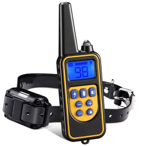 RemoteControl Training Collar - Stop Bark Vibrations, Waterproof, Rechargeable