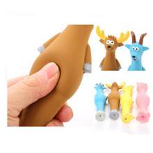 Load image into Gallery viewer, Cute Latex Animal Squeaky Chew Toys