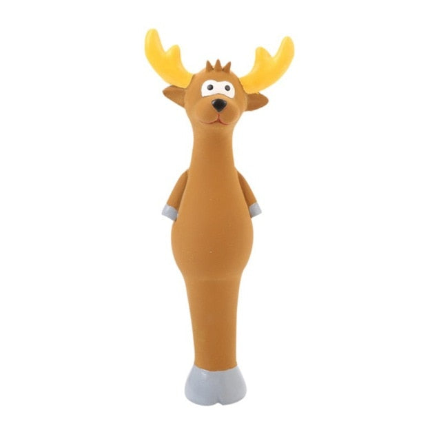 Cute Latex Animal Squeaky Chew Toys