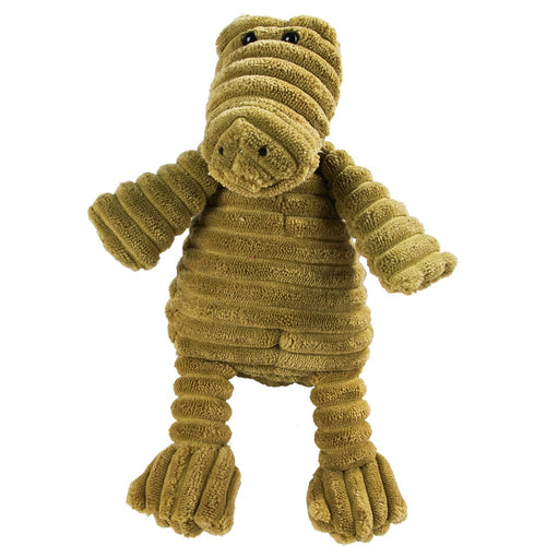 Cute Corduroy Animal Plush Squeaking Toy