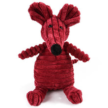 Load image into Gallery viewer, Cute Corduroy Animal Plush Squeaking Toy