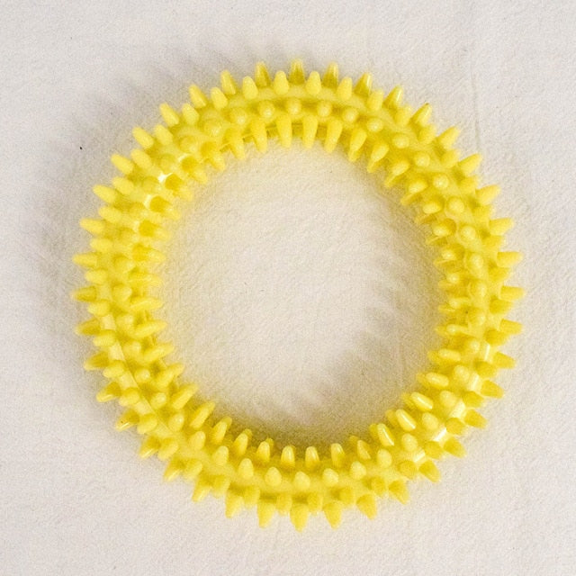 Rubber Ring Pet Teeth Cleaning Toy