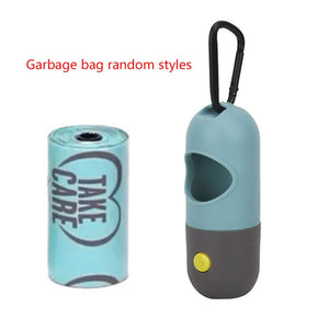 Degradable Dog Waste Bag Dispenser with LED Light