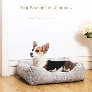 PETKIT Thermal Memory Foam Cooling Pad Dog Bed