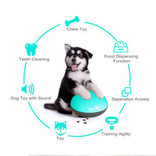 Load image into Gallery viewer, Interactive Squeaky Treat Dispenser Dog Chew Toy