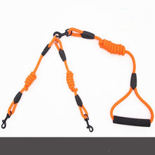 Load image into Gallery viewer, Double headed dog leash with Comfort Handle