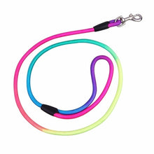 Load image into Gallery viewer, Colorful 1.2M Nylon Rope Leash