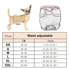 Load image into Gallery viewer, Sanitary Washable Female Dog XS-XXL Diaper