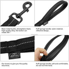 Load image into Gallery viewer, Reflective Stitching Bungee Dog Leash