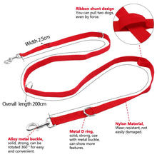 Load image into Gallery viewer, 6 Way Multi-functional Adjustable Nylon Dog Leash