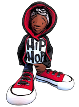 "Load image into Gallery viewer, ""Hip Hop"" (Boy) Card Stock Print"