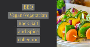 BBQ Vegan/Vegetarian Rock Salt and Spice Collection