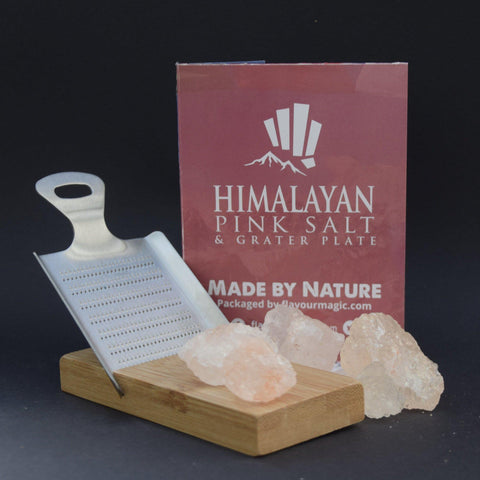 Himalayan Pink Salt and Grater